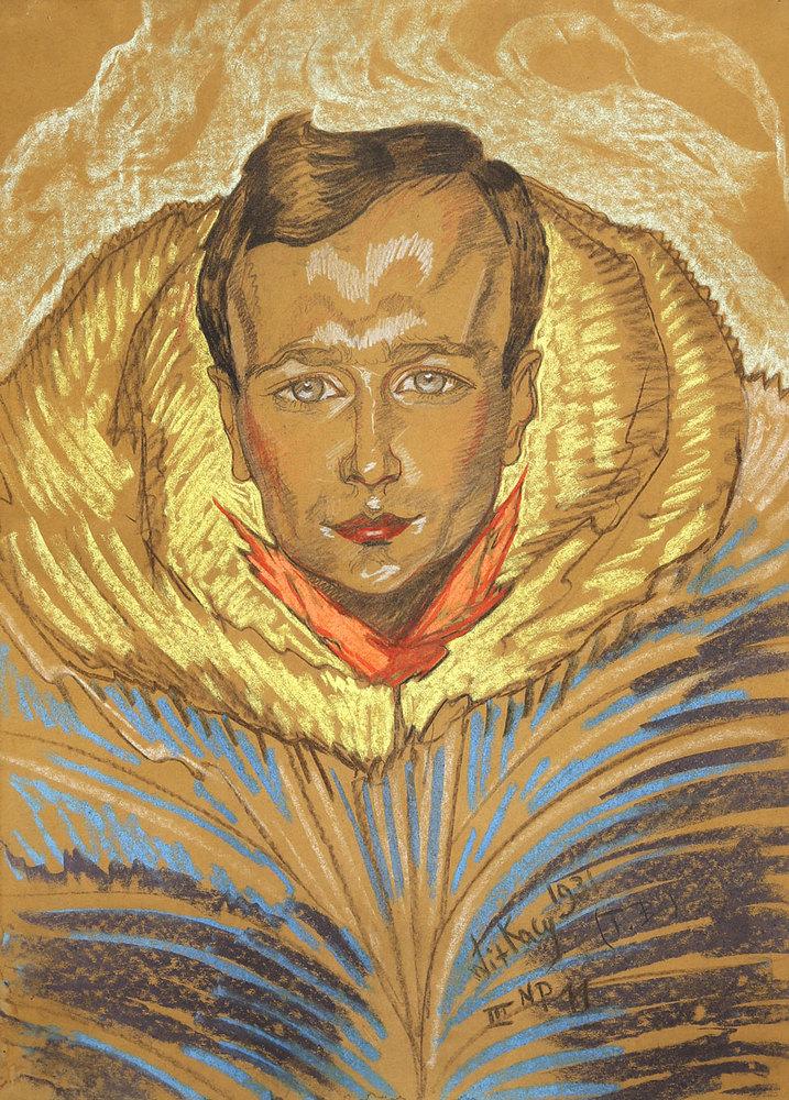 """TYP B - Obraz Stanisława Ignacego Witkiewicza """"Portret Jana Leszczyńskiego"""", źródło: koneser.krakow.pl"""