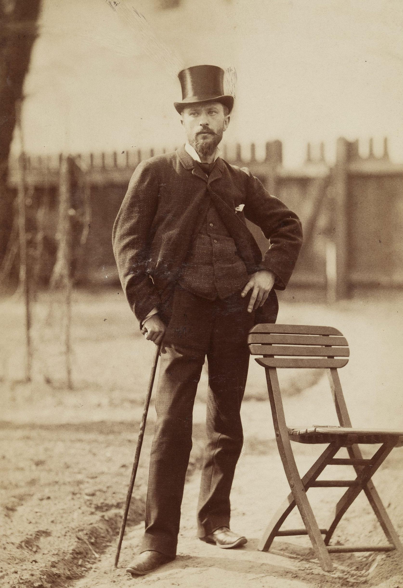 Portret Aleksandra Gierymskiego, ok. 1881-1884, źródło: Muzeum Narodowe w Warszawie