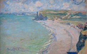"""SKRADZIONE: """"Plaża w Pourville"""" Claude'a Moneta"""