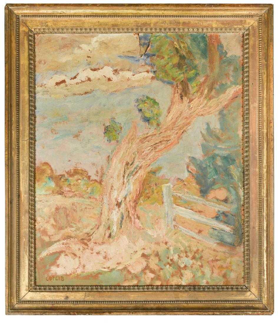 """Henryk Gotlib (1890-1966) """"Drzewo"""", źródło: Cheffins"""