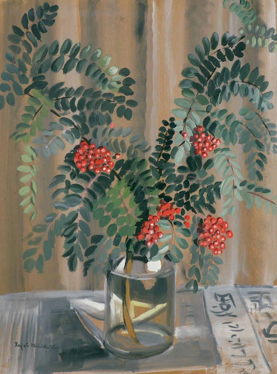"""Rafał Malczewski """"Jarzębina"""", ok. 1950 roku, źródło: Agra-Art"""