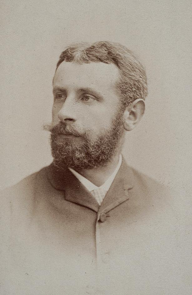 Fotografia portretowa Józefa Brandta, źródło: Polona