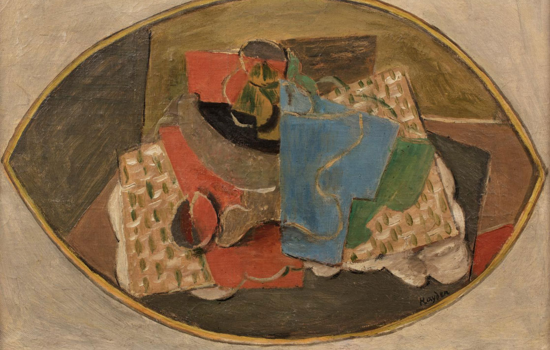 "Henryk Hayden (1883-1970) ""Martwa natura kubistyczna"", źródło: Millon"