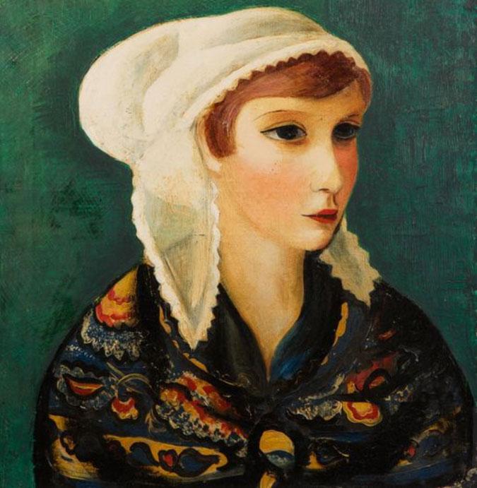 """Mojżesz Kisling (1891-1953) """"Bretonka"""", źródło: Millon"""
