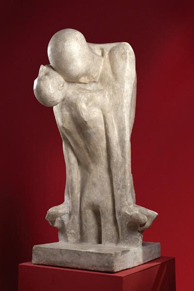 """Xawery Dunikowski """"Fatum"""", 1902-1904 rok, źródło: Muzeum Narodowe w Warszawie"""