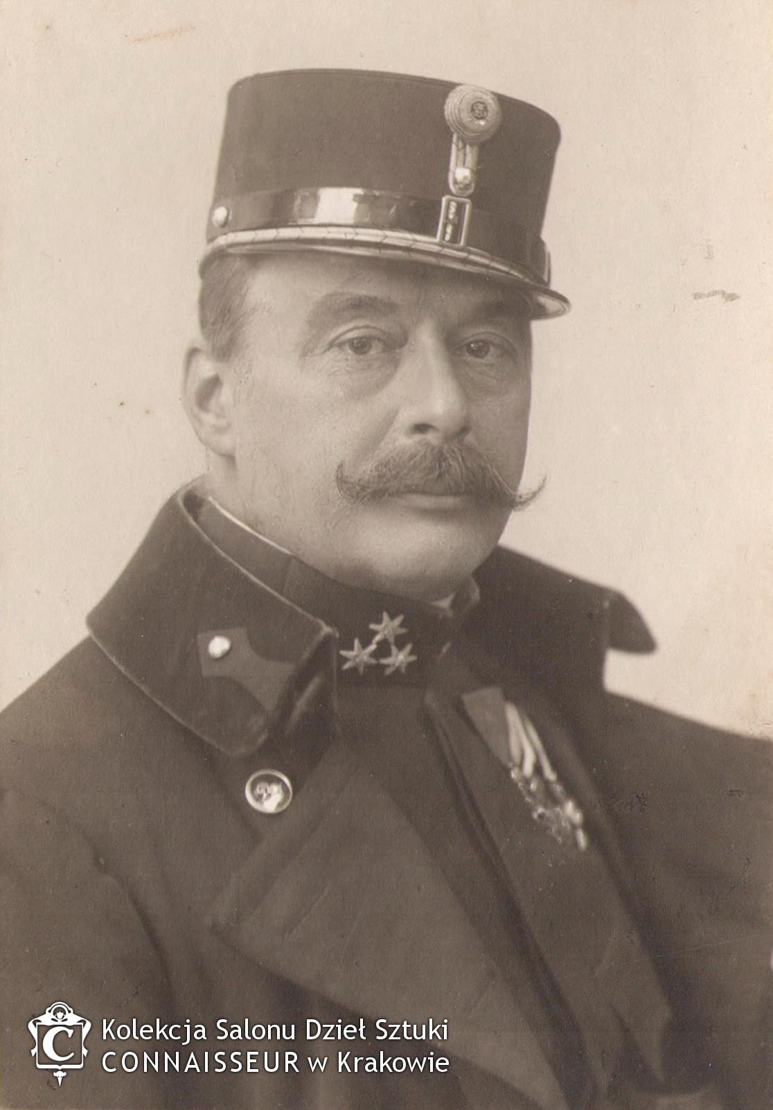 Portret fotograficzny Wojciecha Kossaka, źródło: Salon Dzieł Sztuki Connaisseur