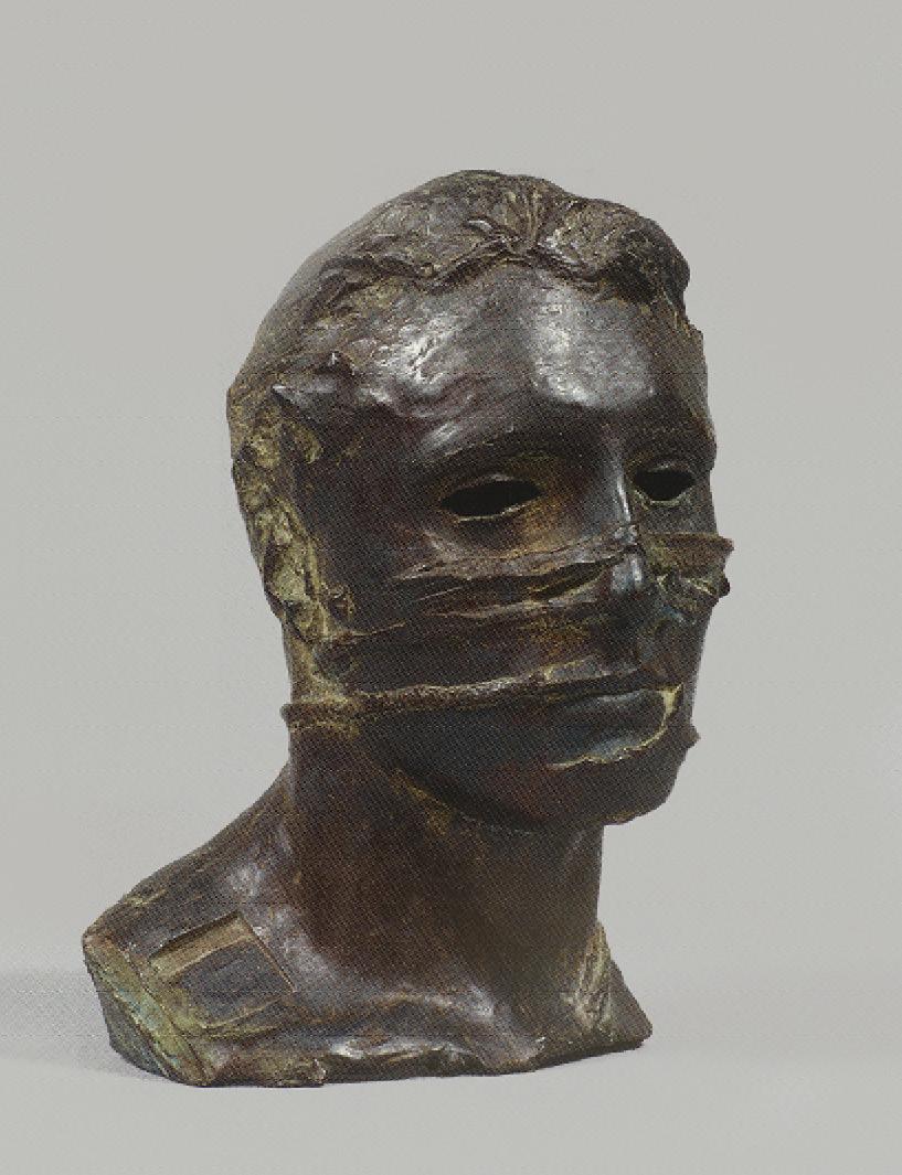 """Igor Mitoraj (1944-2014) """"Eros Bendato"""", źródło: Cornette de Saint Cyr"""