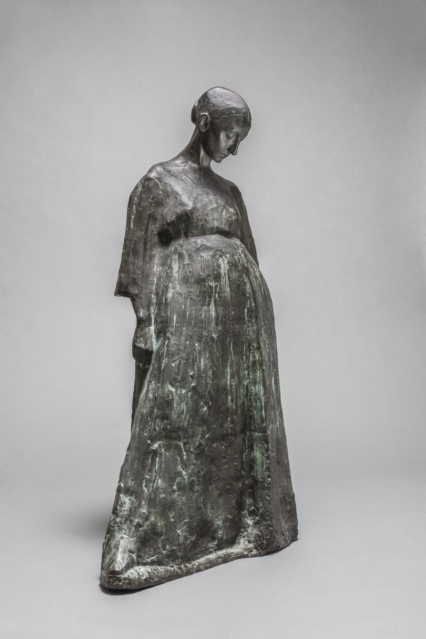 """Xawery Dunikowski """"Brzemienna I, 1906 rok, źródło: Muzeum Narodowe w Warszawie"""