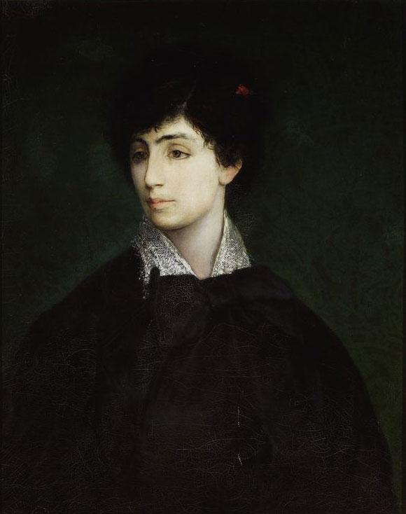 """Maurycy Gottlieb """"Portret młodej Żydówki"""", 1879 rok, źródło: Muzeum Narodowe w Warszawie"""