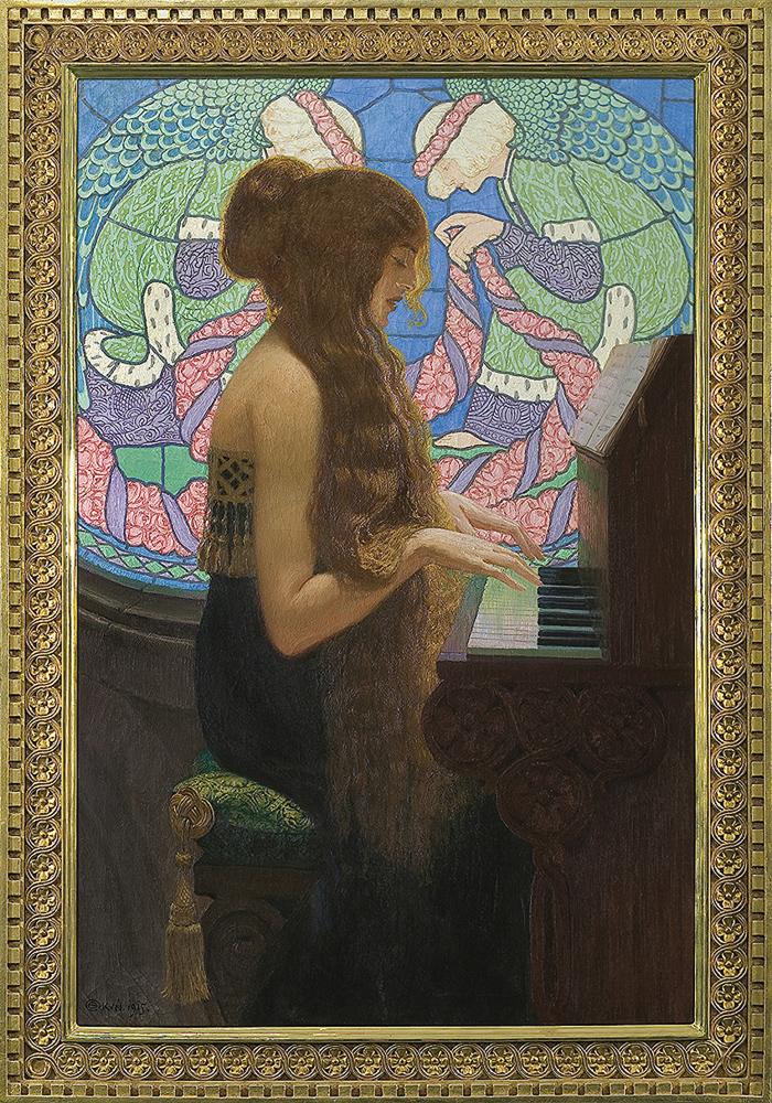 "Edward Okuń ""Musica sacra"", 1915 rok, źródło: Agra-Art"