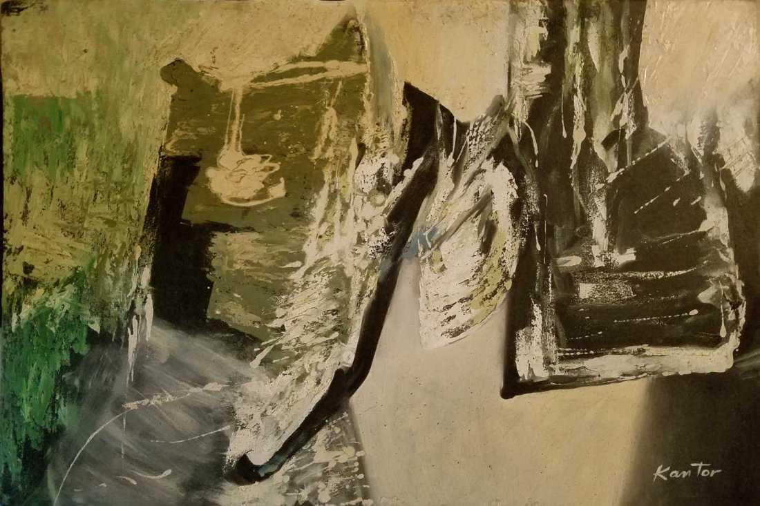 """Tadeusz Kantor (1915-1990) """"Kompozycja"""", źródło: Andrew Auctions"""