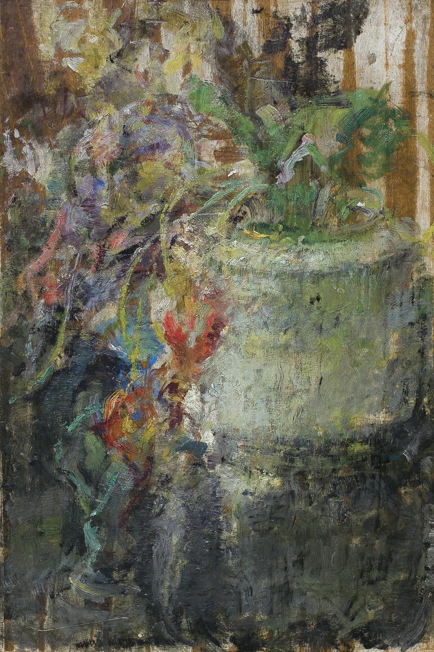 """Olga Boznańska """"Kwiaty w wazonie"""", źródło: Agra-Art"""