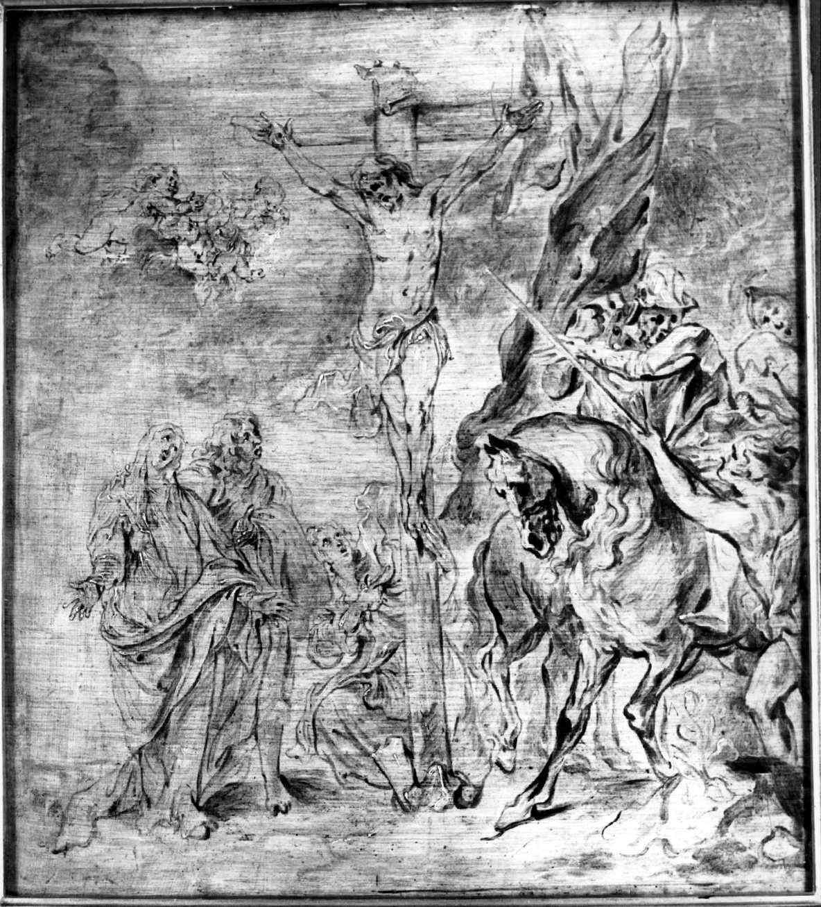 """Anton van Dyck """"Ukrzyżowanie"""", źródło:  skradzionezabytki.pl"""
