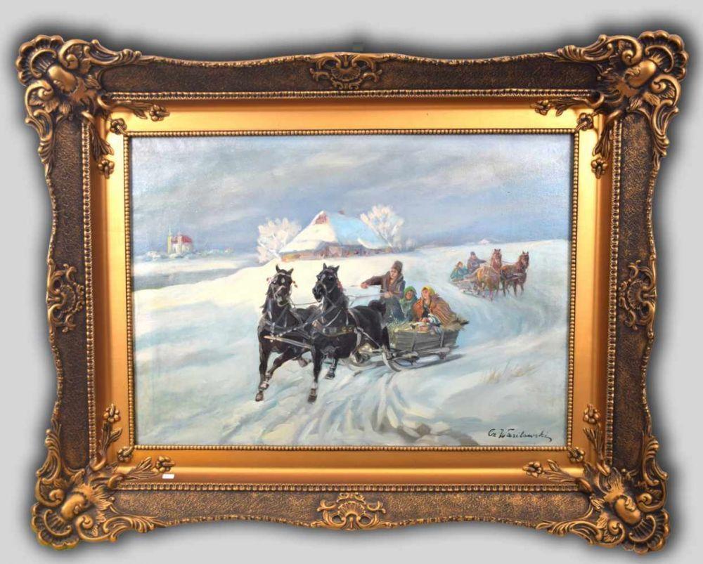 """Czesław Wasilewski (1875-1947) """"Sanna"""", źródło: Auktionshaus Lux"""