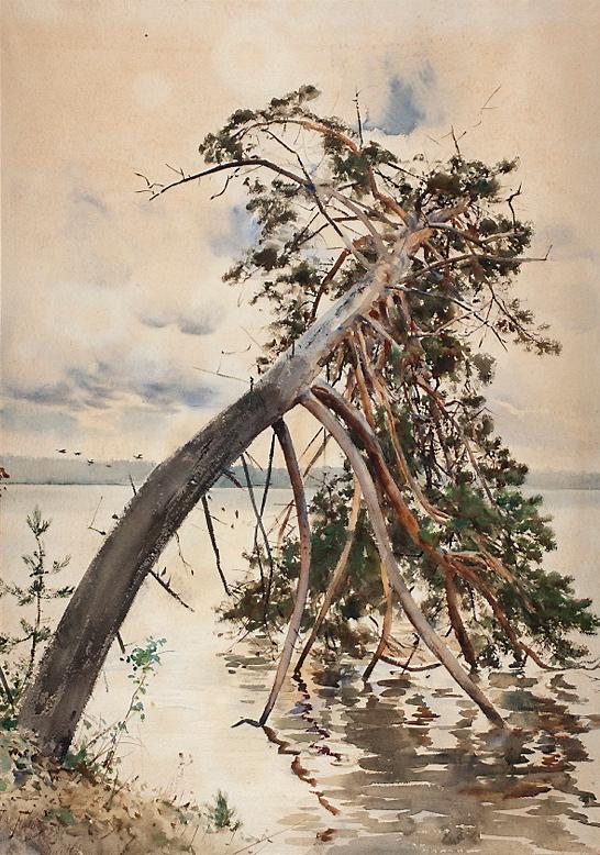 """Julian Fałat """"Świteź"""", 1888 rok, źródło: Muzeum Narodowe w Warszawie"""