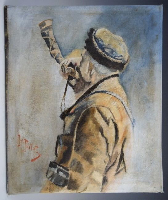 """Julian Fałat (1853-1929) """"Portret mężczyzny"""", źródło: Black River Auction"""