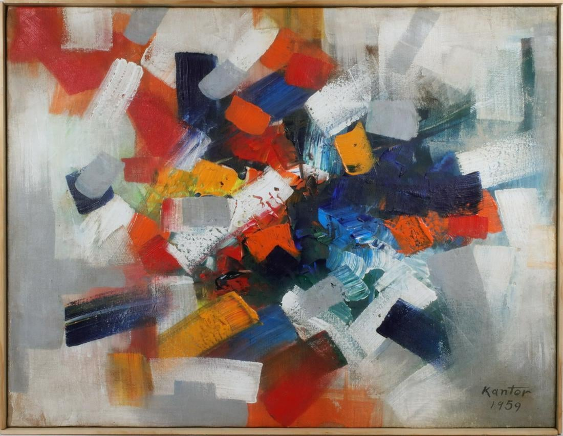"Tadeusz Kantor (1915-1990) ""Kompozycja"", źródło: Thomaston Place Auction Galleries"