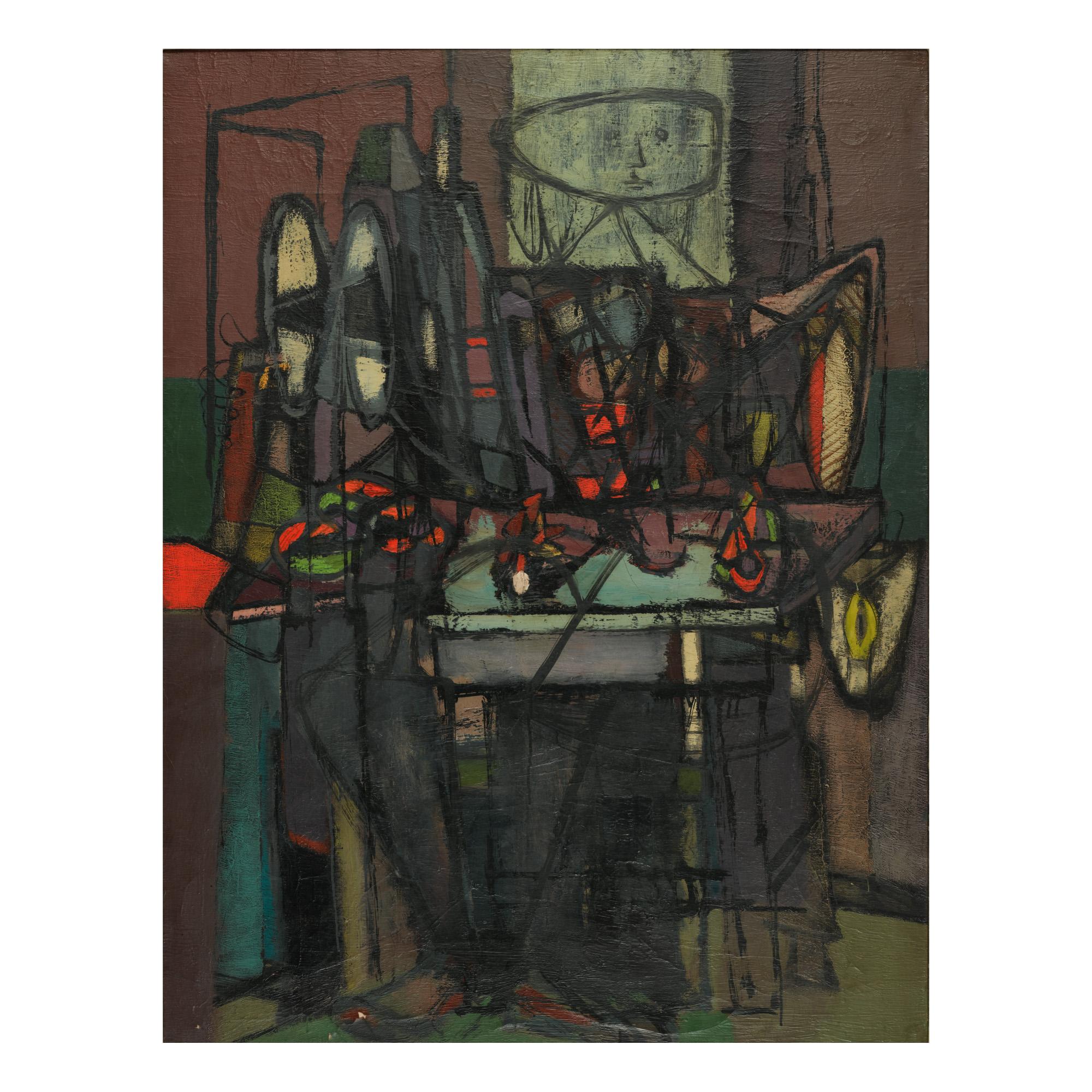 "Jankiel Adler (1895-1949) ""Kobieta i martwa natura"", źródło: Sotheby's"
