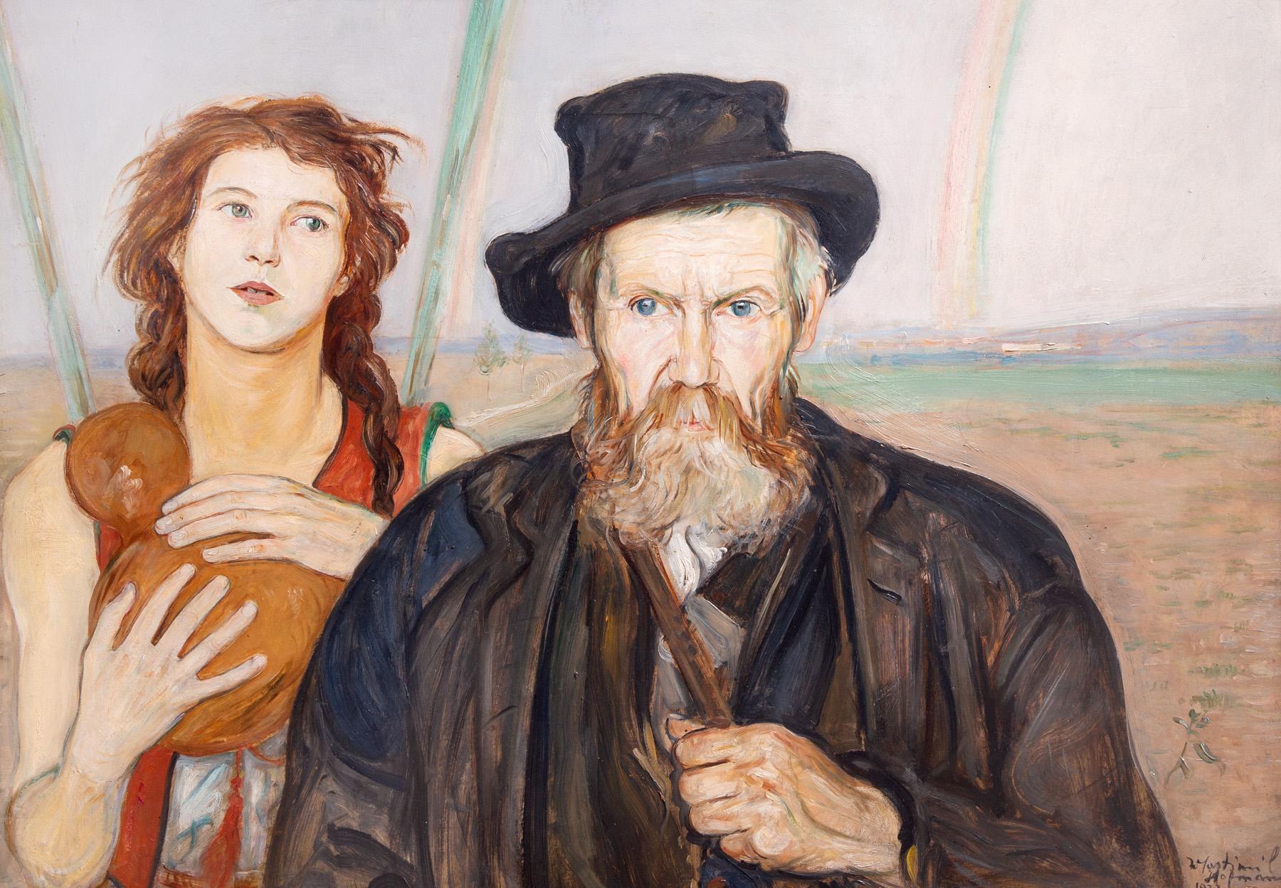 """Wlastimil Hofman """"Niezawiedzione nadzieje"""", 1922 rok, źródło: Salon Dzieł Sztuki Connaisseur"""