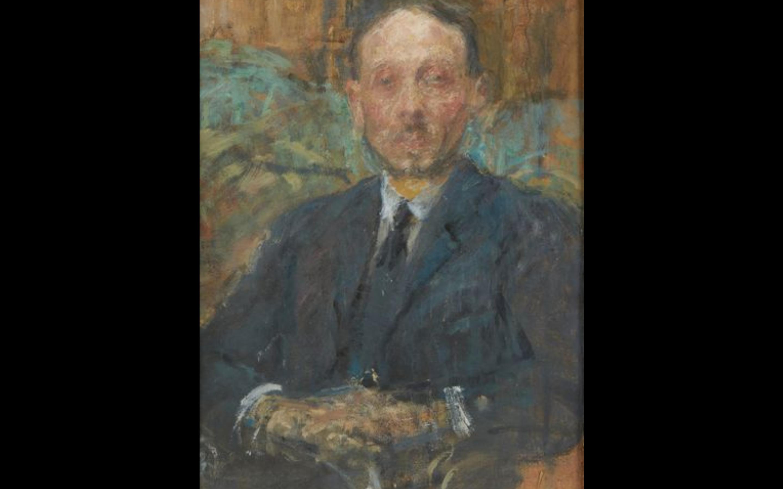 "Olga Boznańska (1865-1940) ""Portret Armand Fourreau (1868 - 1941)"", źródło: L'Huillier & Associés - Drouot"