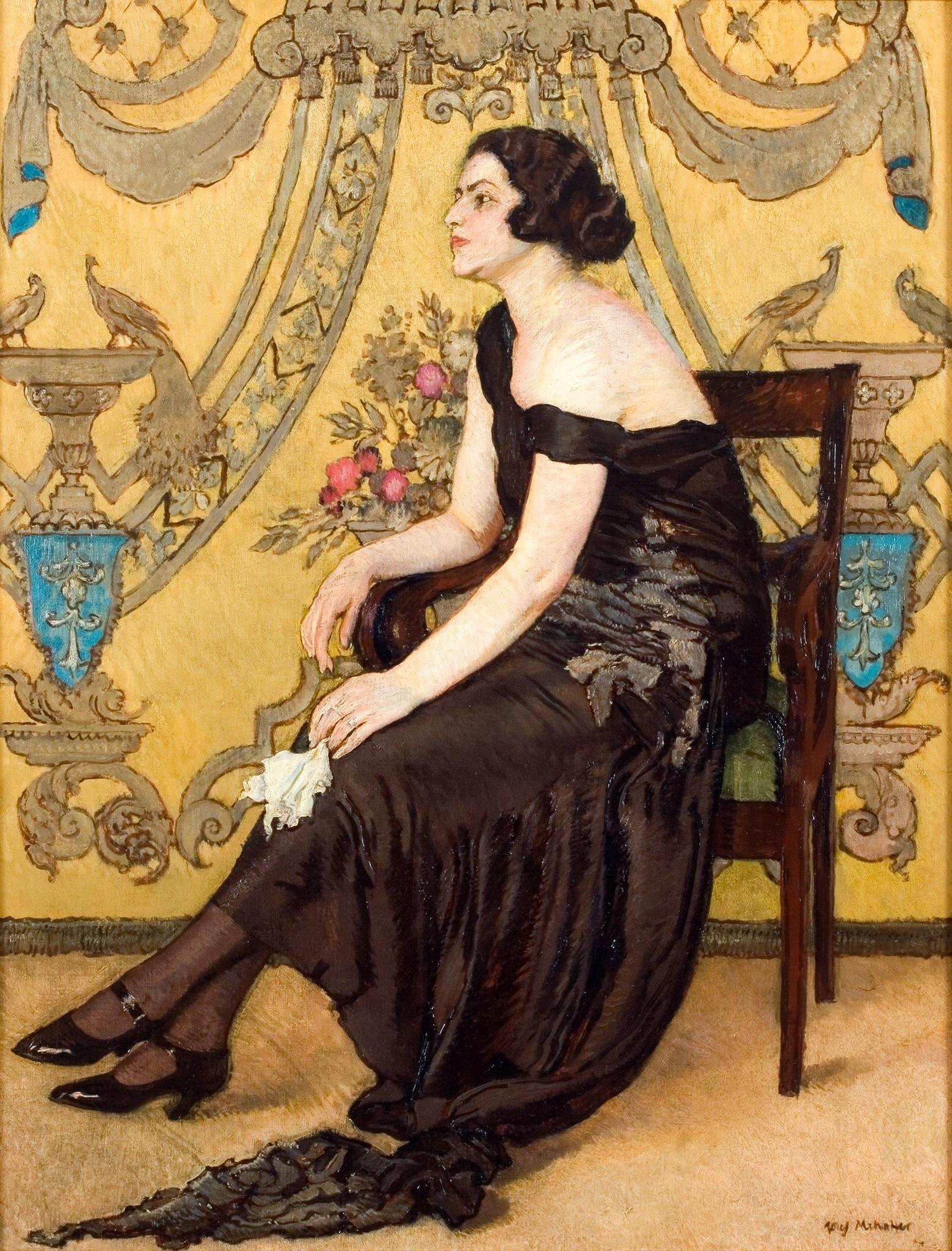 """Józef Mehoffer """"Róża Saronu"""", 1923 rok, źródło: Muzeum Narodowe w Krakowie"""