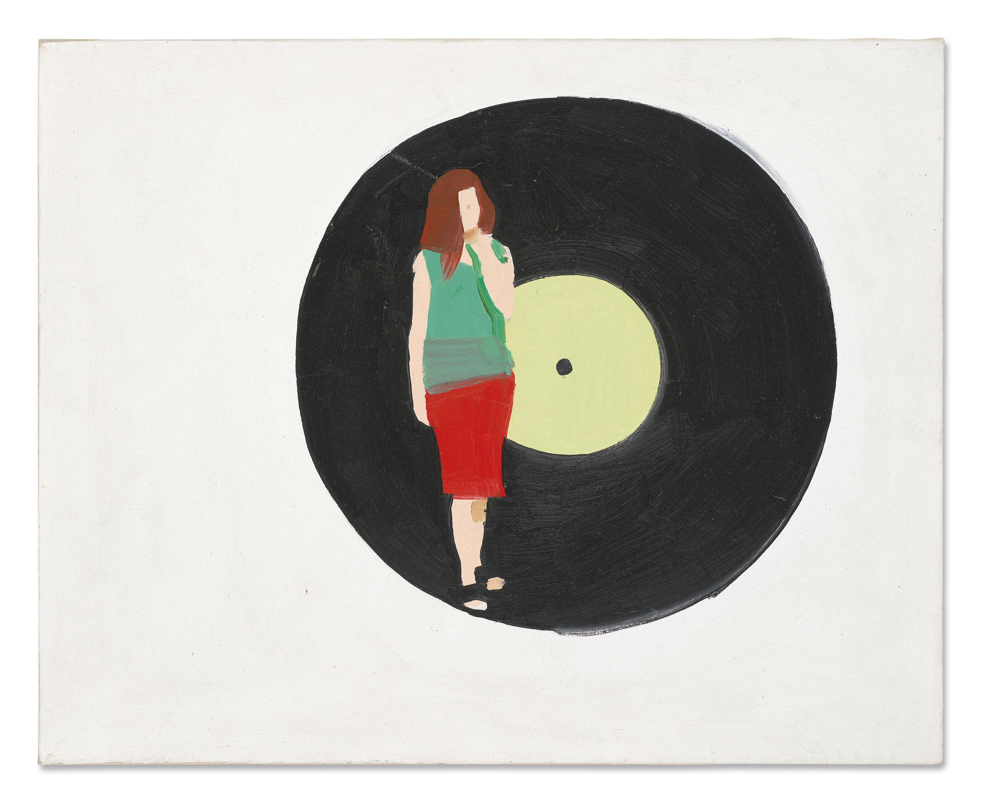 """Wilhelm Sasnal (ur. 1972) """"Bez tytułu"""", źródło: Christie's"""