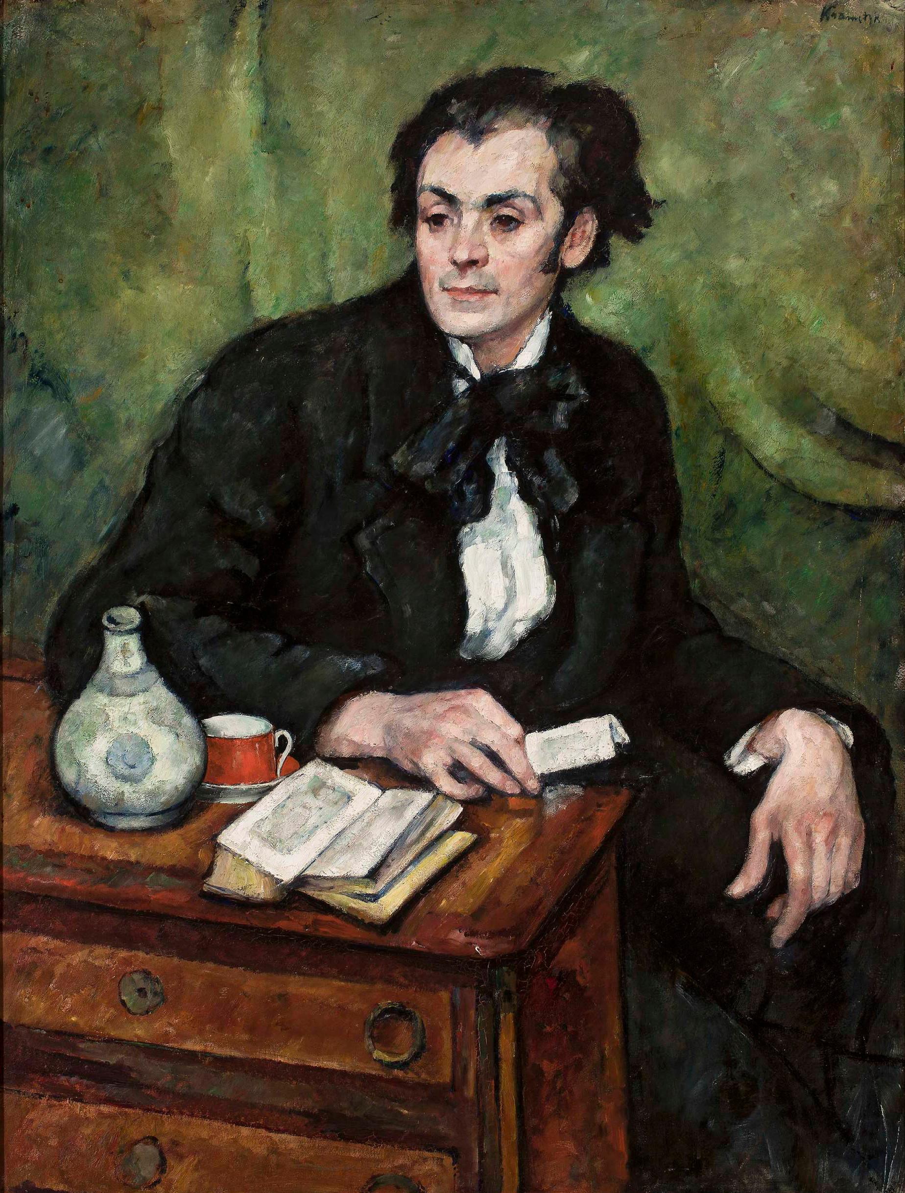"""Roman Kramsztyk (1885-1942) """"Portret Jana Rubczaka"""", ok. 1910 roku, źródło: Muzeum Narodowe w Warszawie"""