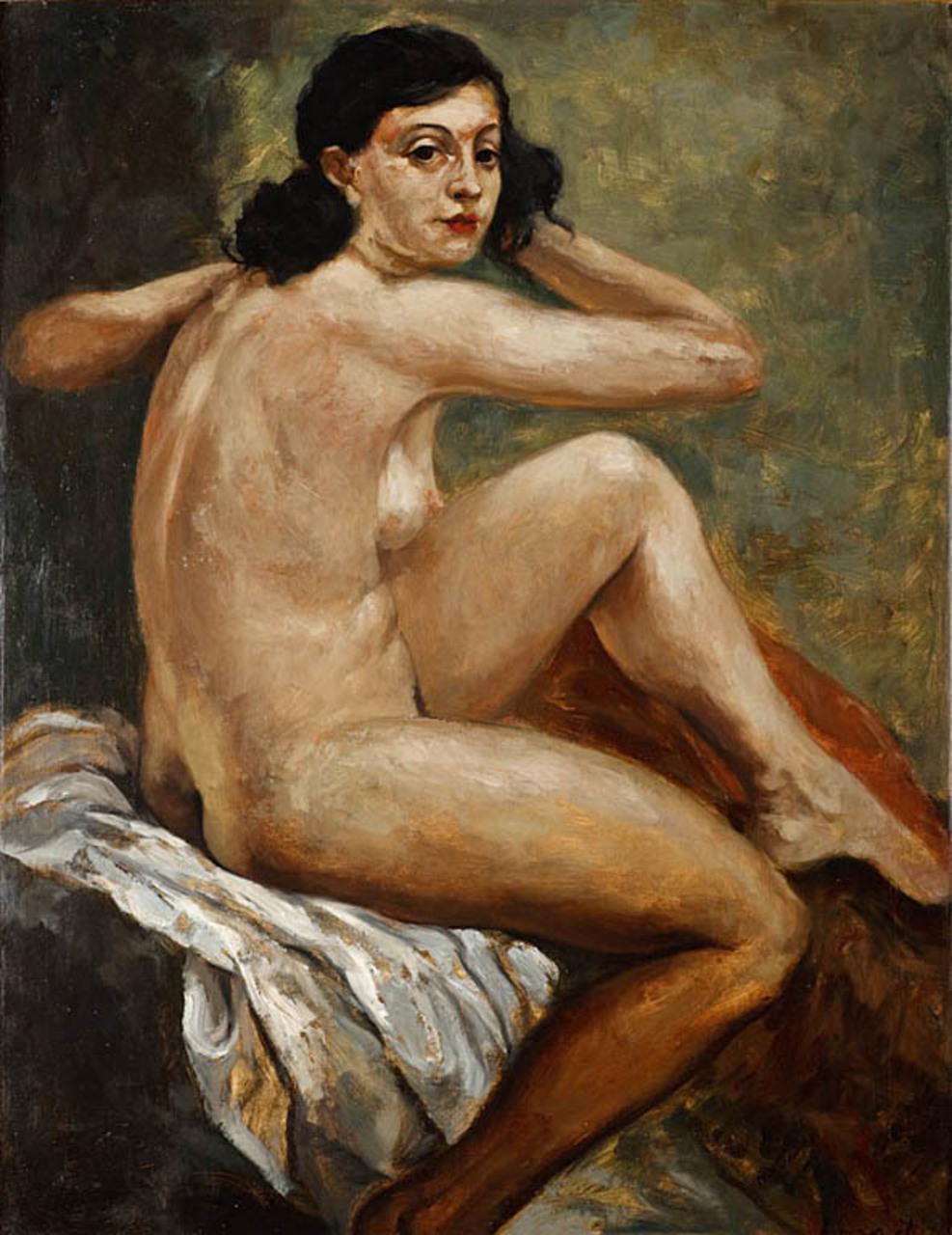 """Roman Kramsztyk (1885-1942) """"Wiosenka"""", źródło: Polswiss Art"""