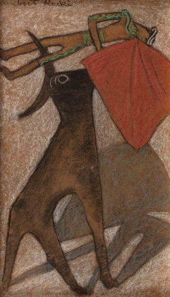 "Jean Lambert Rucki (1888-1967) ""Corrida"", źródło: Millon"
