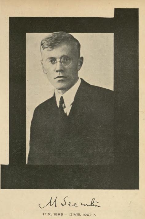 """Fotografia Mieczysława Szczuki, która ukazała się we wspomnieniu o artyście w czasopiśmie """"Dźwignia"""" w 1927 roku."""