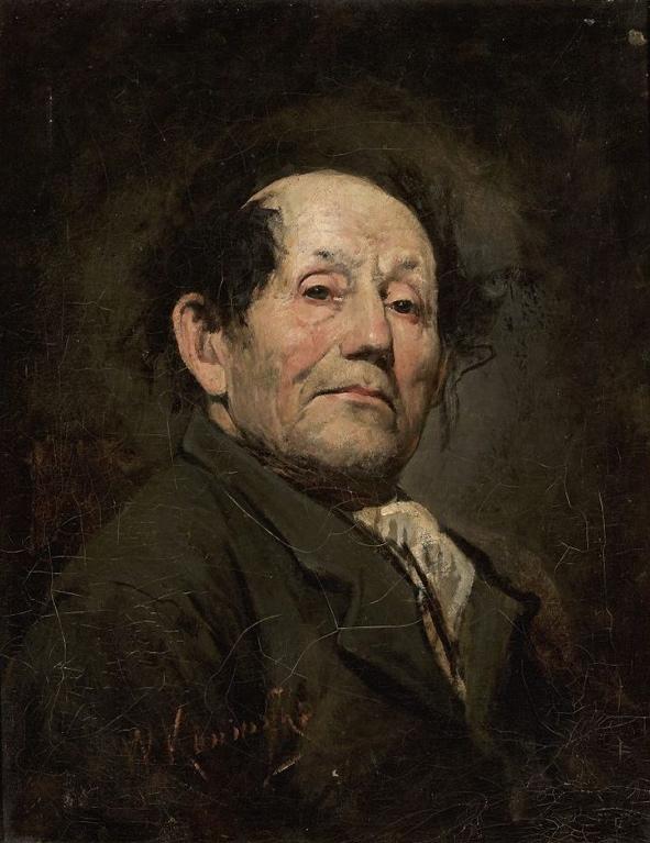 """Wacław Koniuszko (1854-1900) """"Portret ojca"""", źródło: Muzeum Narodowe w Warszawie"""