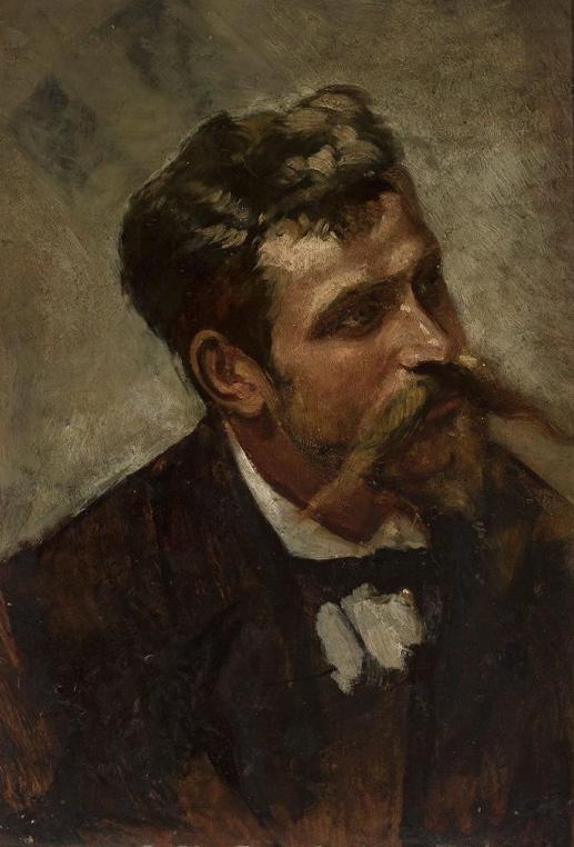 """Wacław Koniuszko (1854-1900) """"Studium mężyczny"""", źródło: Muzeum Narodowe w Warszawie"""
