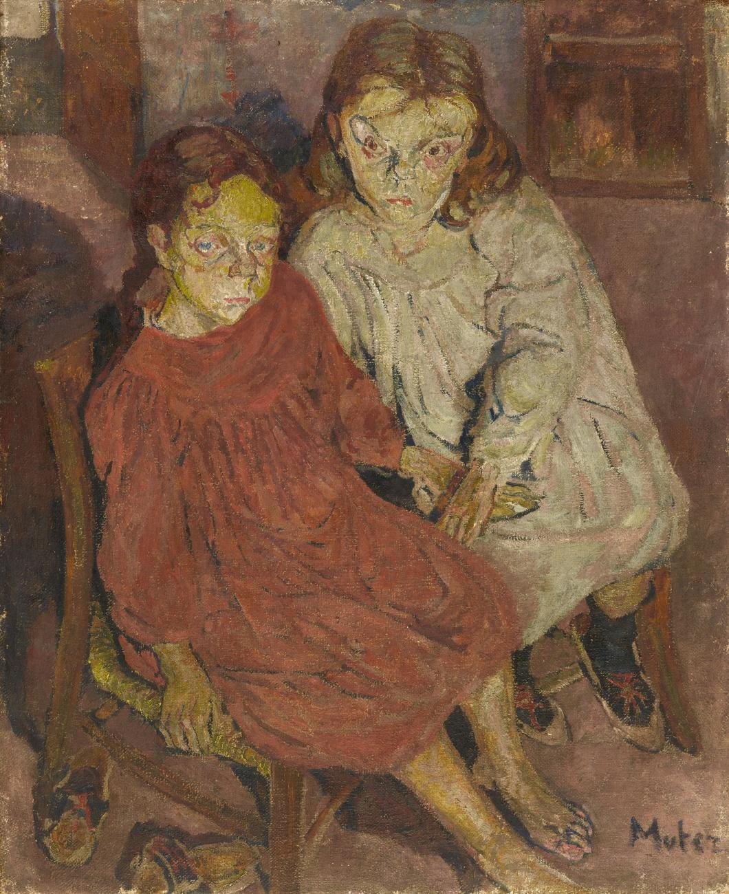 """Mela Muter (1876-1967) """"Dziewczynki"""", źródło: Lempertz"""