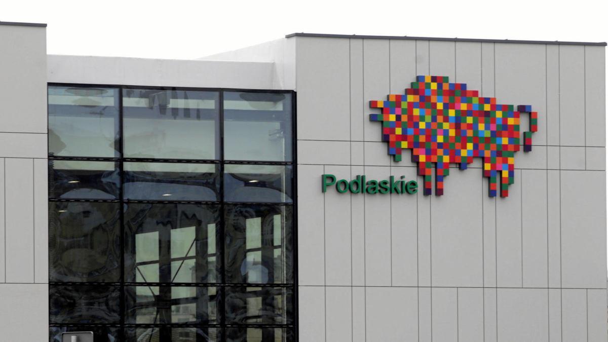 Logo województwa podlaskiego autorstwa Leona Tarasewicza, źródło: bialystok.wyborcza.pl