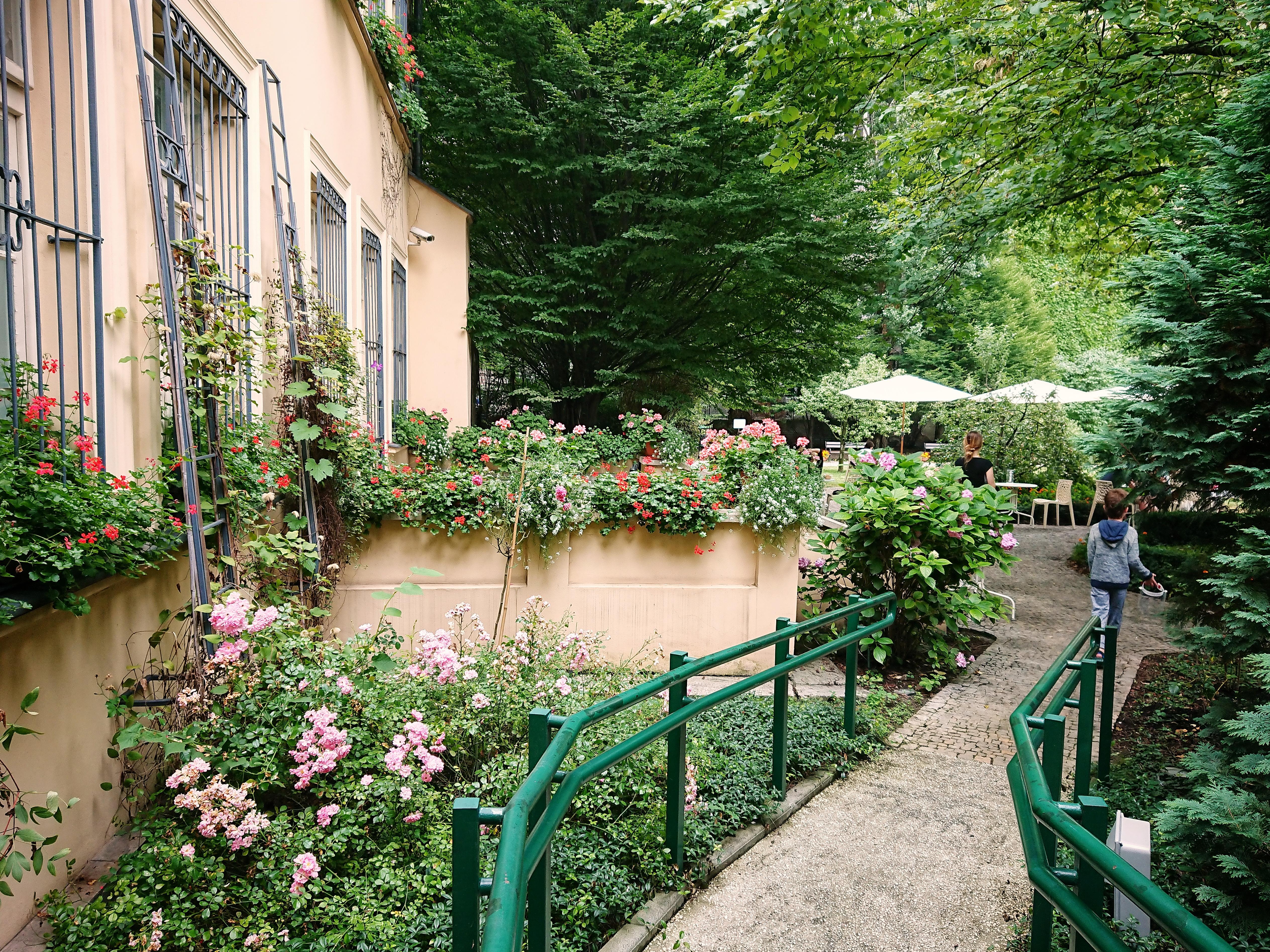 Wejście do ogrodu przy Domu Mehoffera, źródło: archiwum autorki