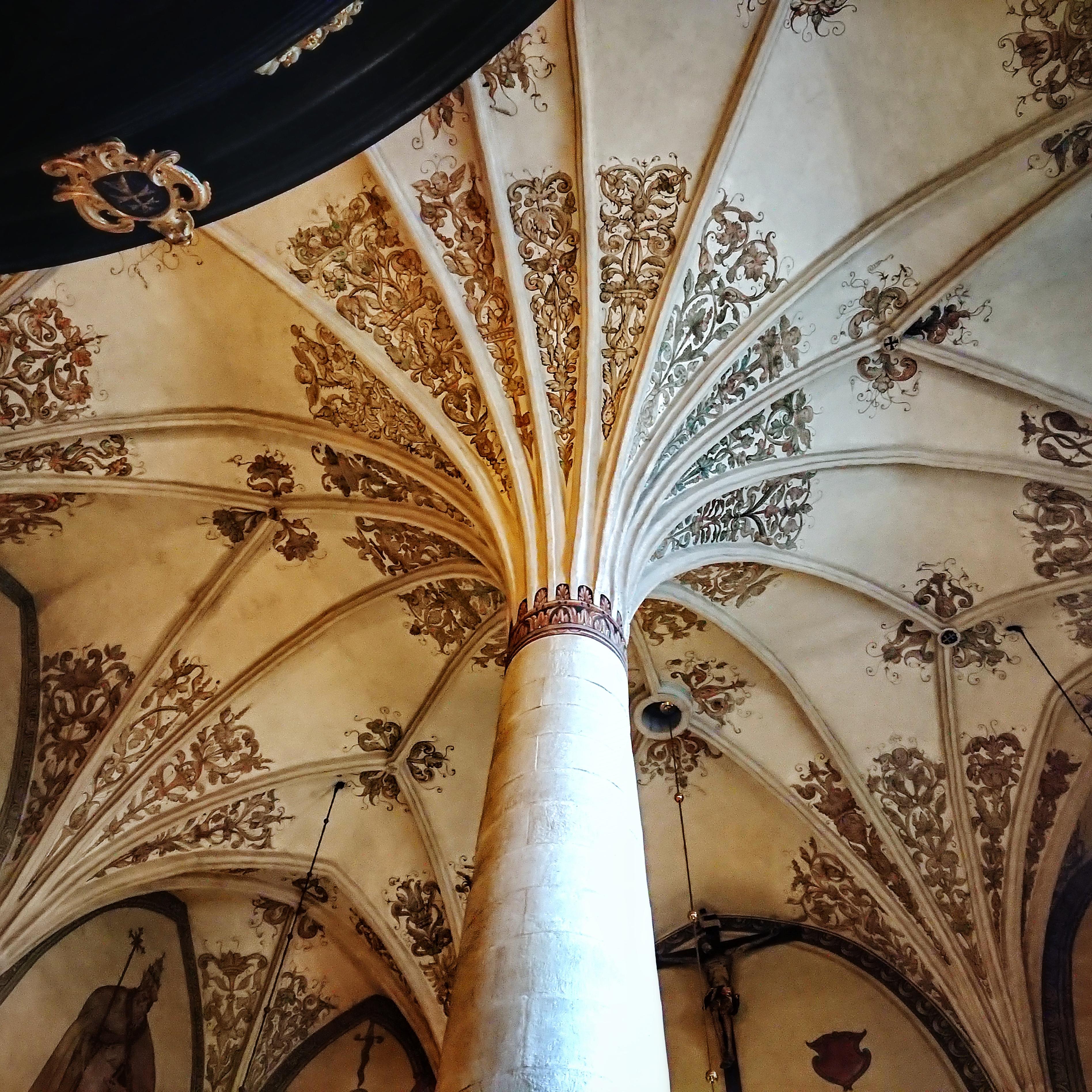 Sklepienie palmowe w krakowskim kościele Św. Krzyża, źródło: archiwum autorki