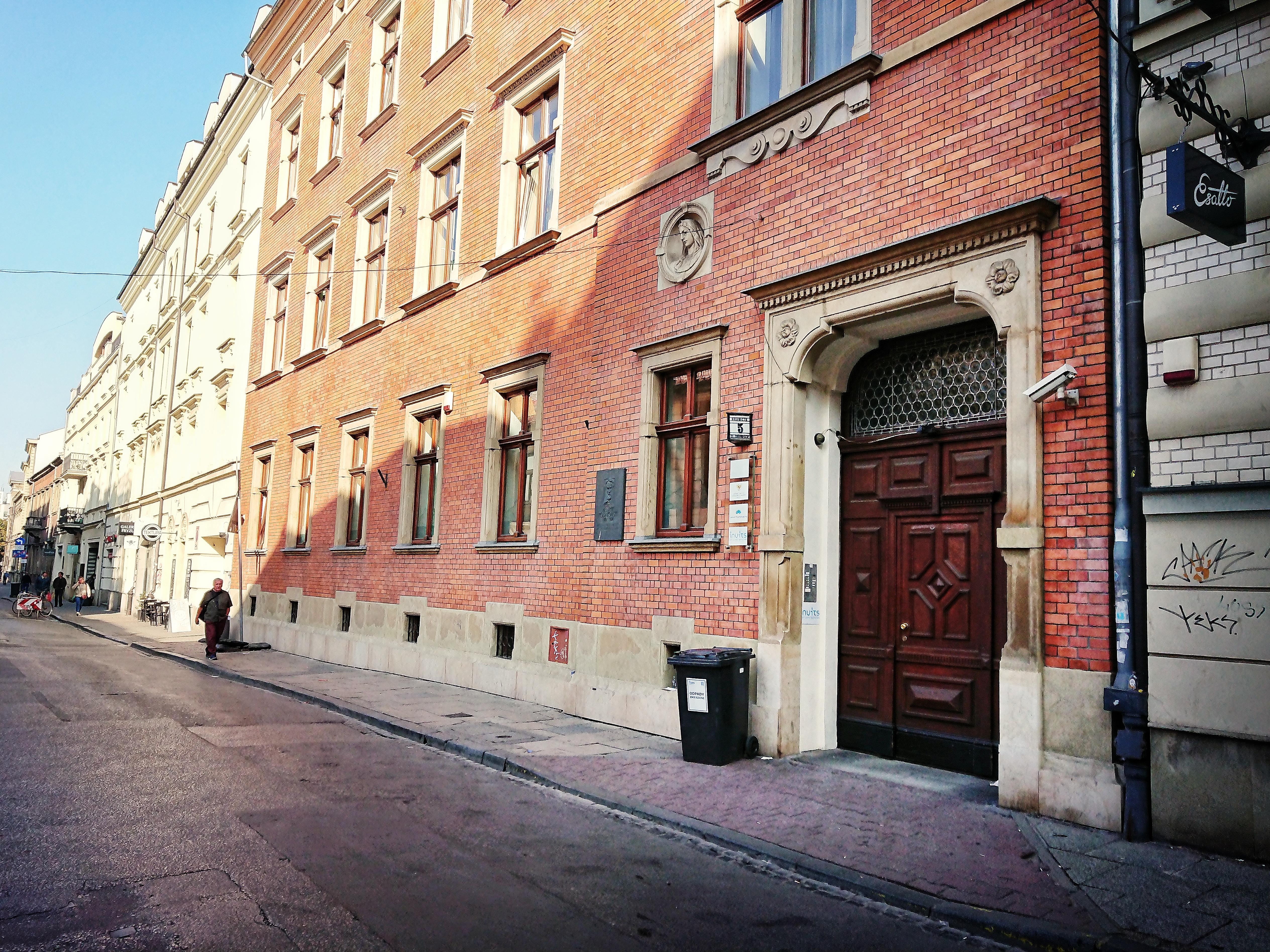 Obecny wygląd zabudowy przy ul. Krupniczej 5, źródło: archiwum autorki