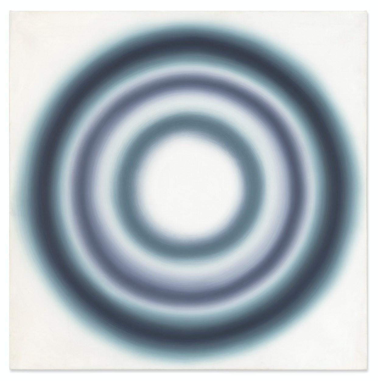 """Wojciech Fangor (1922-2015) """"N10"""", źródło:  Christie's"""