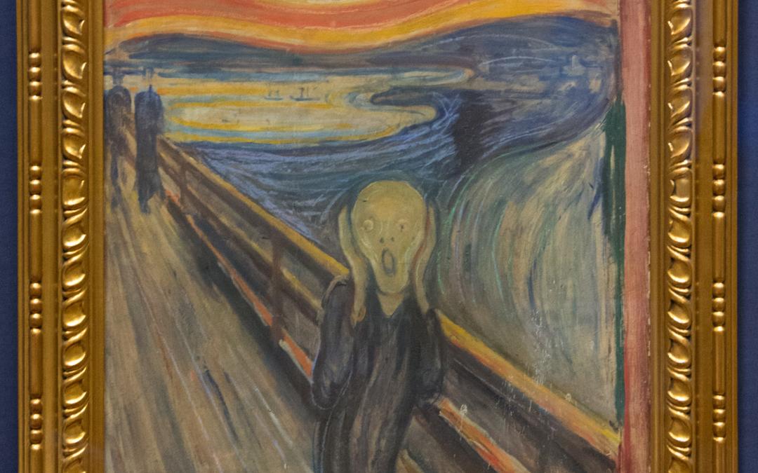 """SKRADZIONE: """"Krzyk"""" Edvarda Muncha"""