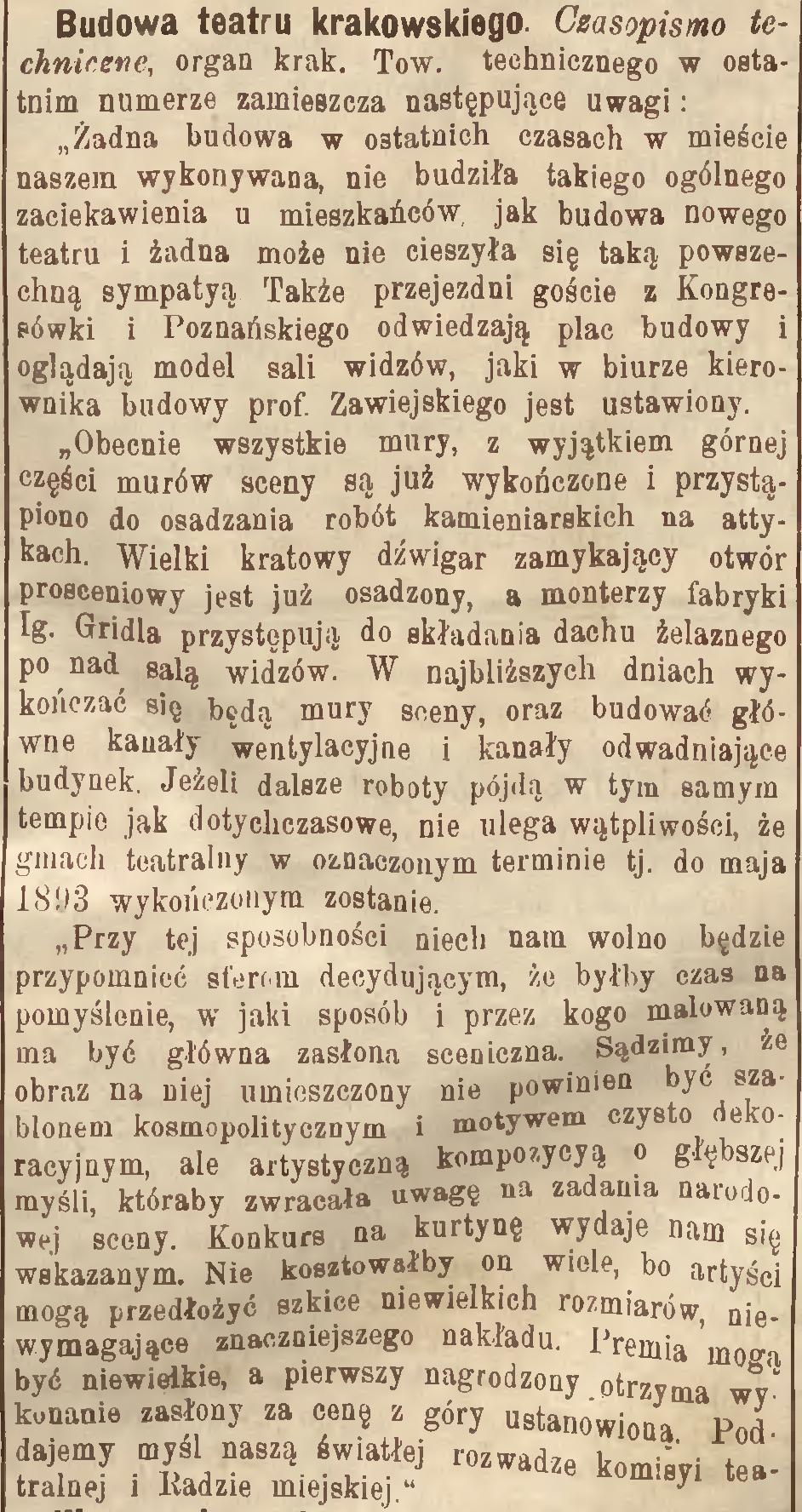 """źródło: """"Nowa Reforma"""" 1891, nr 215"""