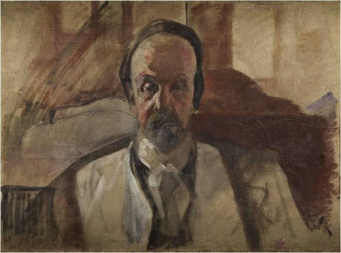 """Jacek Malczewski (1854-1929) """"Autoportret"""", ok. 1926 roku, SPRZEDAŻ: 95 000 zł, źródło: DESA Unicum"""