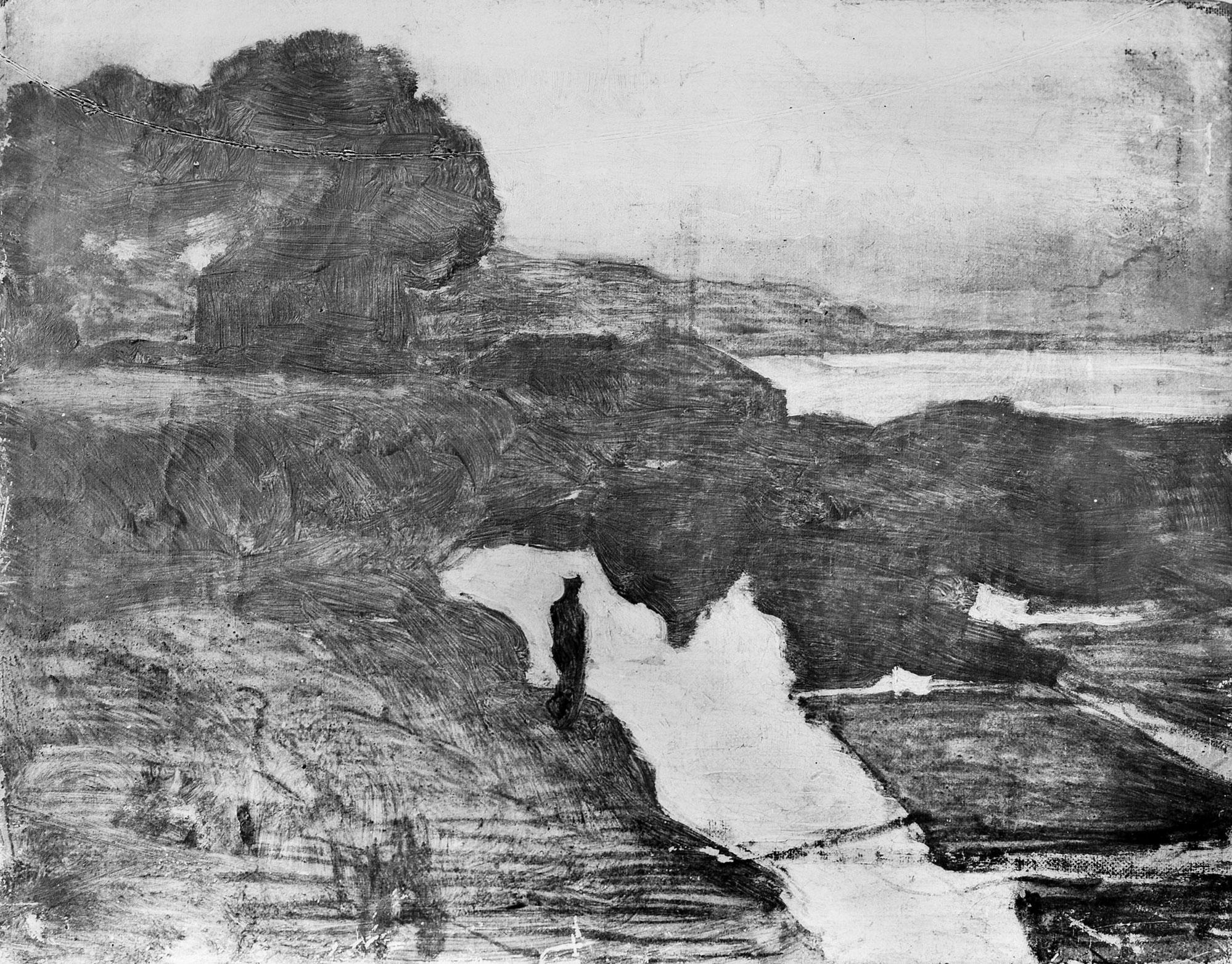 """Aleksander Gierymski """"Szkic - Święto Trąbek"""", 1884 rok, źródło: Muzeum Narodowe w Warszawie"""
