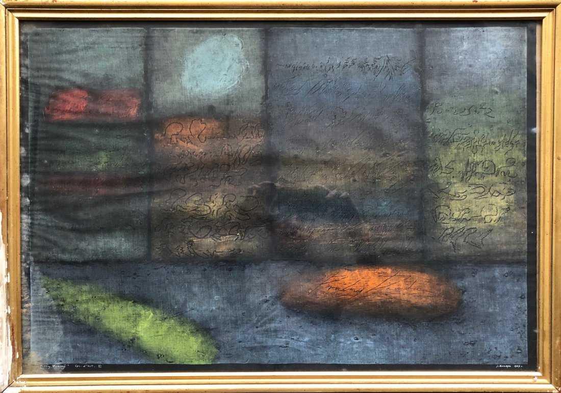 """Janina Kraupe Świderska (1921-2016) """"Cztery psalmy"""", źródło: Avra Art"""