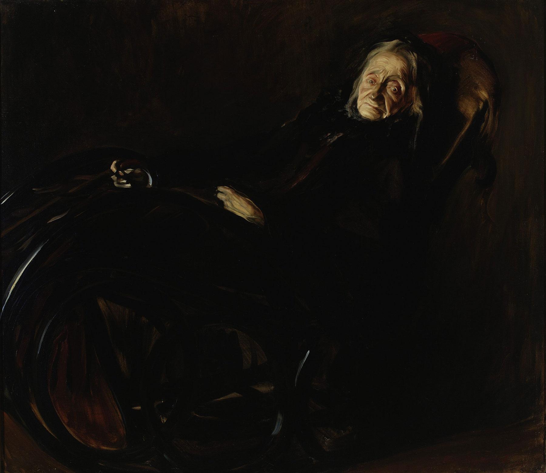 """Konrad Krzyżanowski """"Portret Pelagii Witosławskiej"""", 1912 rok, źródło: Muzeum Narodowe w Warszawie"""