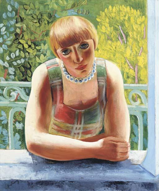 """Mojżesz Kisling, """"Portret Renée Kisling"""", 1917 rok, źródło:  Christie's"""