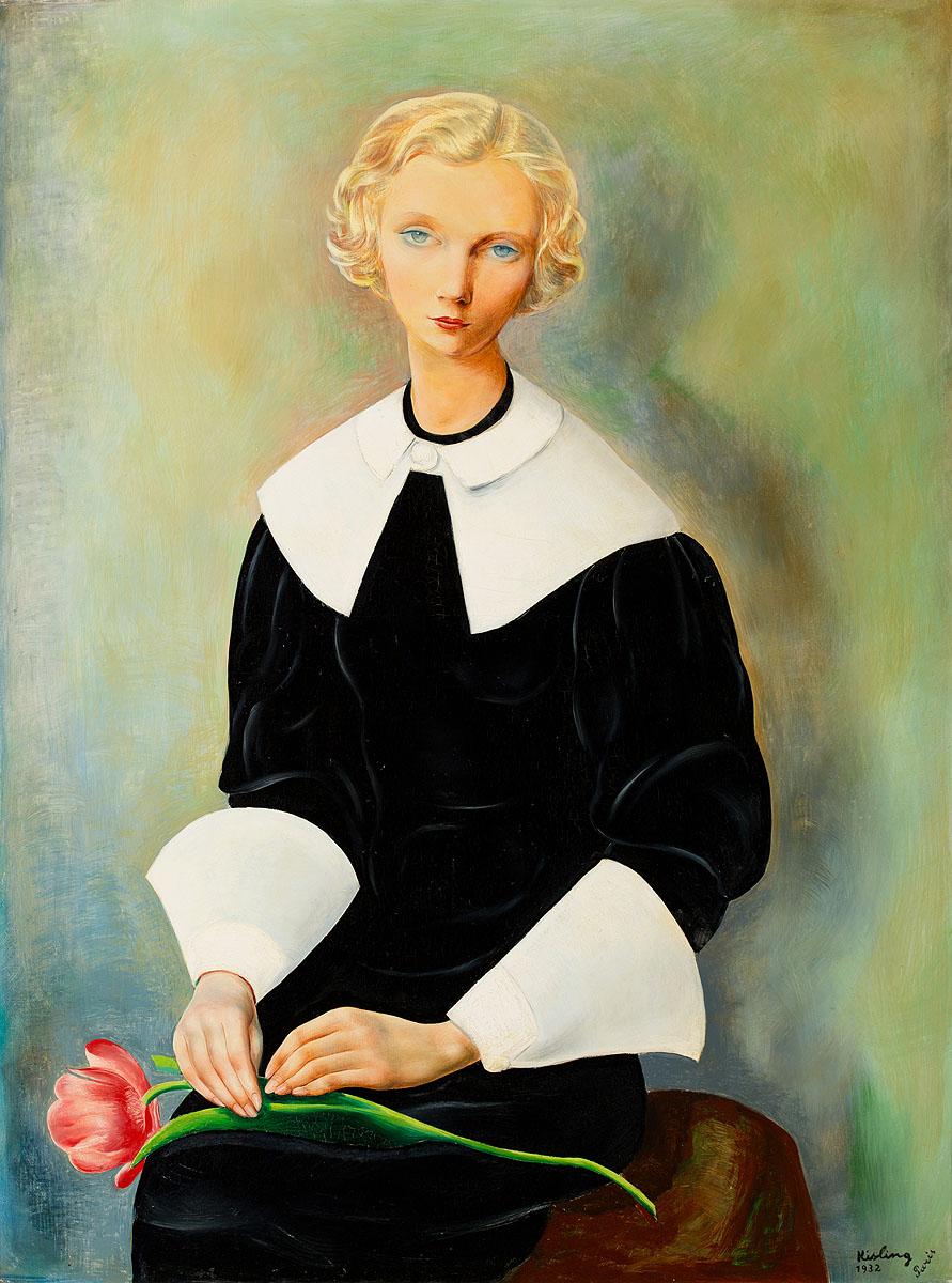 """Mojżesz Kisling, """"Ingrid"""", źródło:  Polswiss Art"""