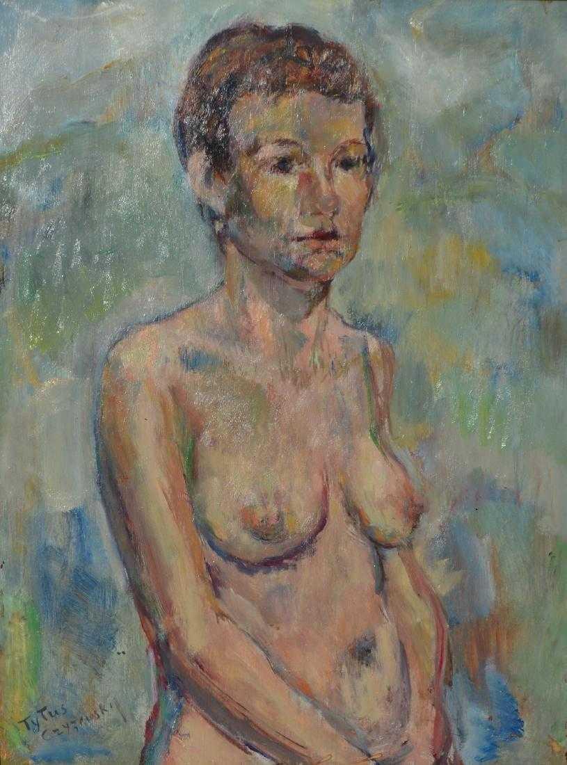 """Tytus Czyżewski (1880-1945) """"Akt stojący"""", źródło: Art Torg"""