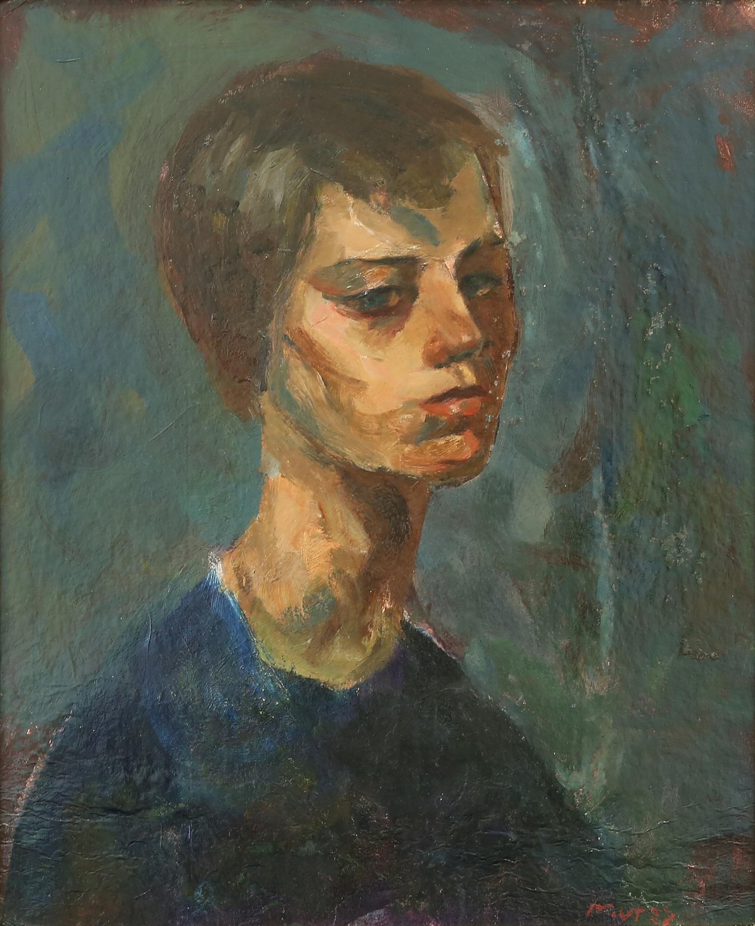 "Mela Muter (1876-1967) ""Autoportret"", źródło: Trinity Auctions"