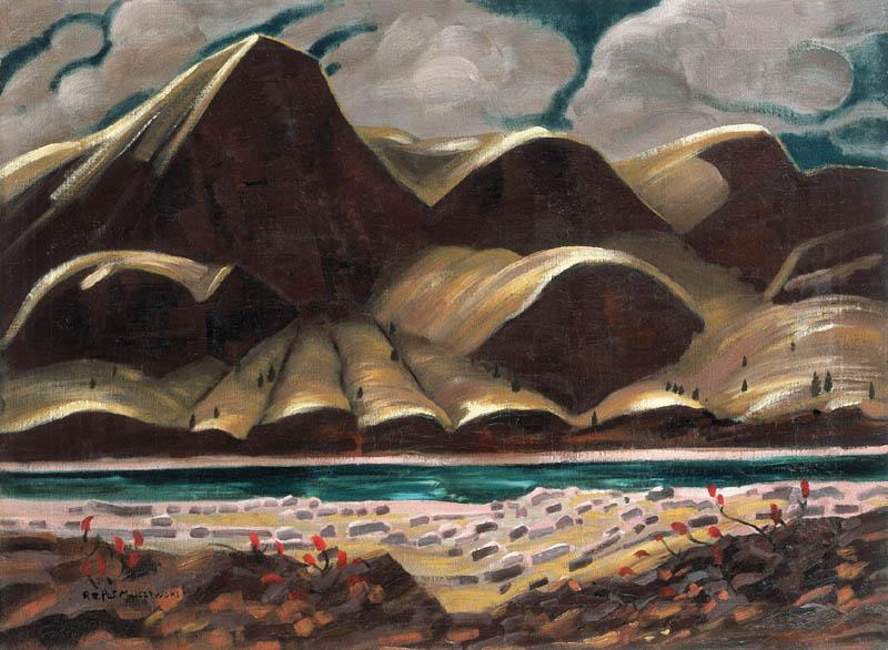 """Rafał Malczewski """"Pejzaż brazylijski"""", ok. 1940 roku, źródło: Agra-Art"""