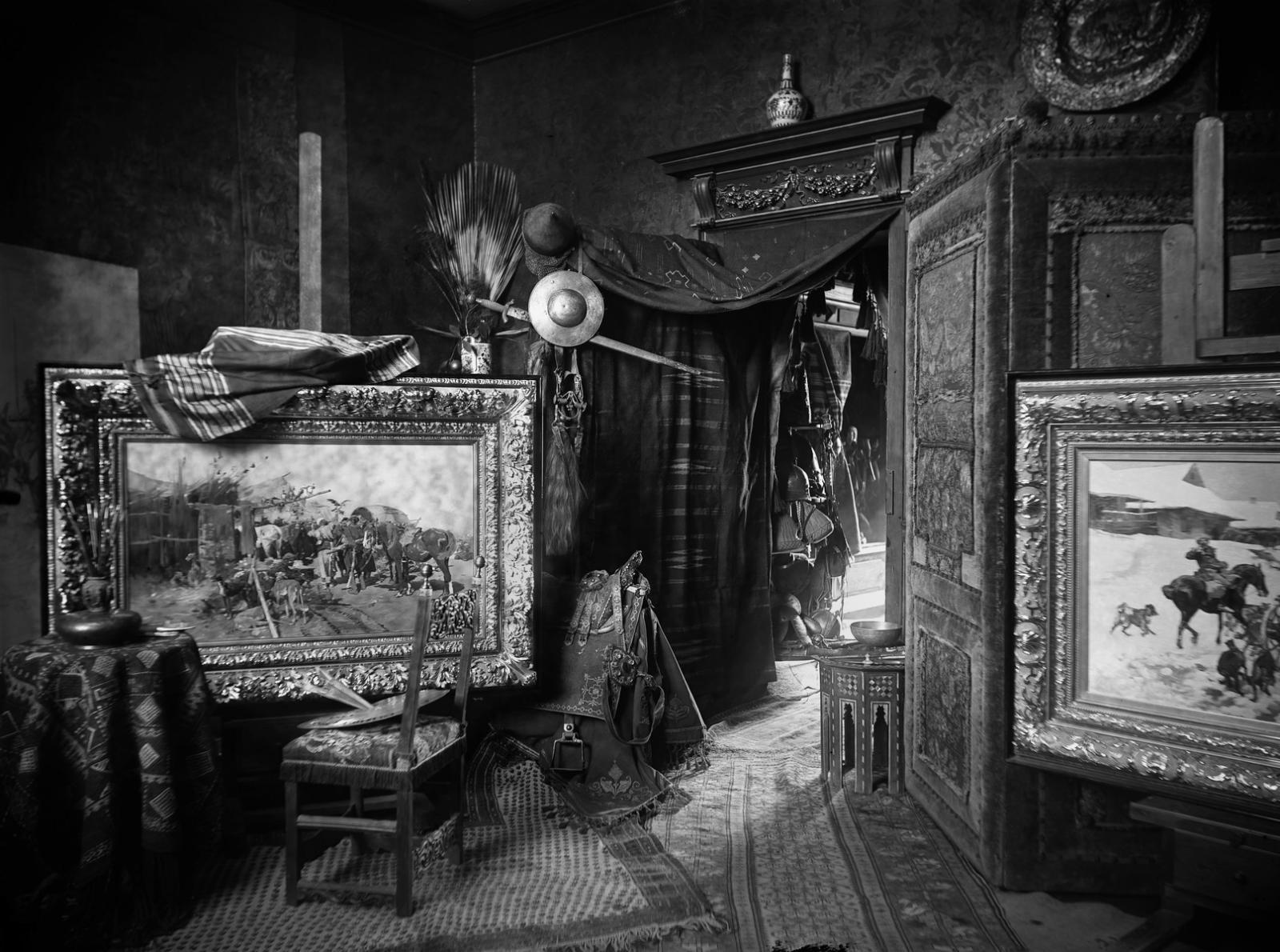 Fotografia Carla Teufela z 1889 roku, atelier Józefa Brandta w Monachium, źródło: Bildarchiv Foto Marburg